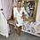 Thumbnail: LB Nude Belted Blazer Dress