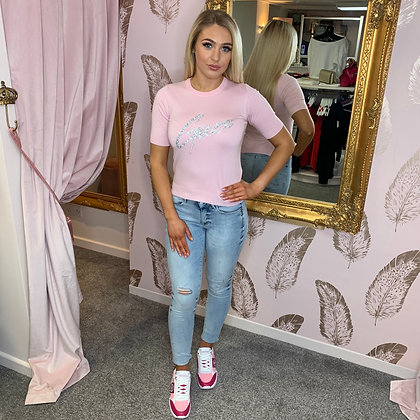 Guess Light Denim Ripped Jeans