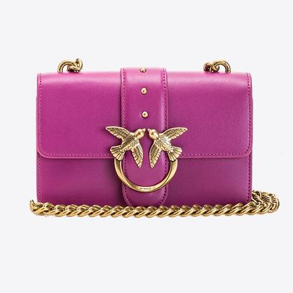 PINKO Fuchsia Mini Love Bag Simply