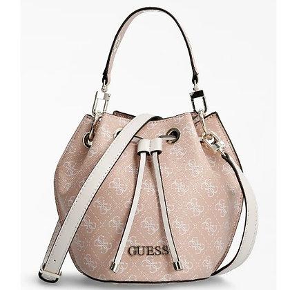 Guess Pink Logo Bucket Bag