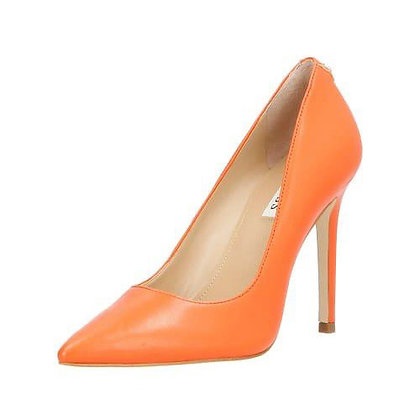 GUESS Orange Leather Court Shoe