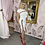 Thumbnail: LB White Split Skirt Set