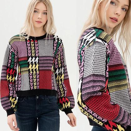 LB Multi Knitted Jumper