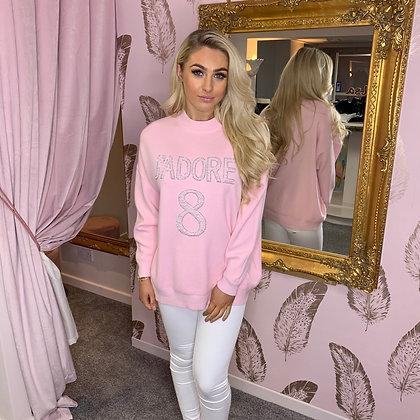 LB Pink J'ADORE Sweater