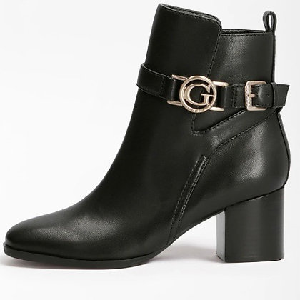 Guess Leather Heel Boot