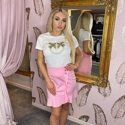 PINKO Pink Mini Skirt
