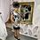 Thumbnail: LB Black/Cream Print Frill Dress