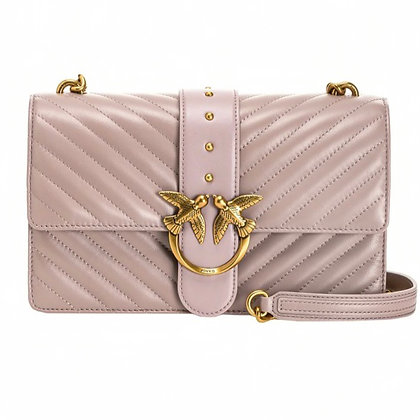 PINKO Classic Love Bag Icon V Quilt Bag