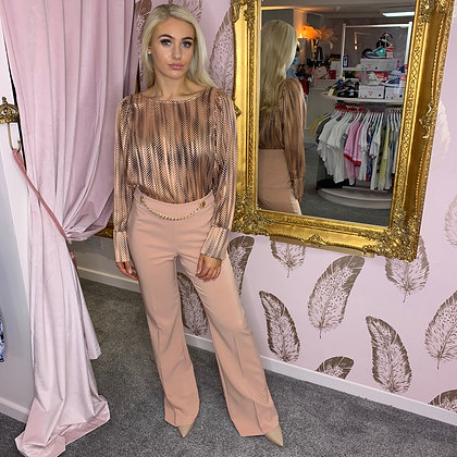 LB Blush Chain Trouser