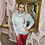 Thumbnail: LB Grey Queen of Hearts Hoodie