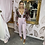 Thumbnail: LB Blush Sequin Jumpsuit