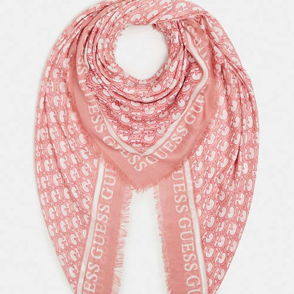 Guess Pink G Scarf