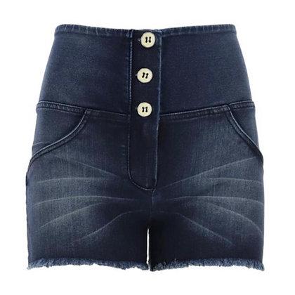 FREDDY Denim 3 Button High Waist Shorts
