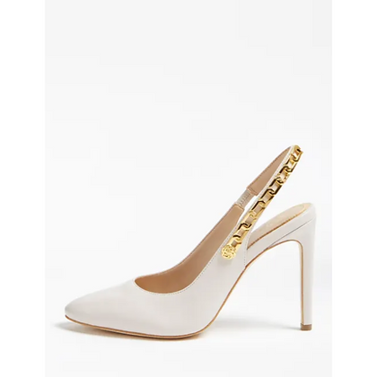 GUESS TEDDI Real Leather Court Shoe