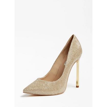 GUESS Gold Court Shoe