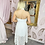 Thumbnail: LB White Halterneck Dress