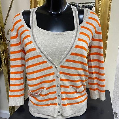 LB Orange Stripe Twin Set