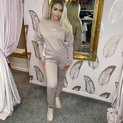 GUESS Taupe Lounge Set