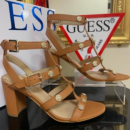 GUESS Tan strapped sandal