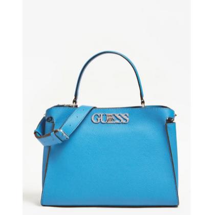 Guess Blue Uptown Chic Handbag