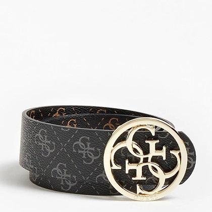 Guess 4G Black/Brown Reversible Belt