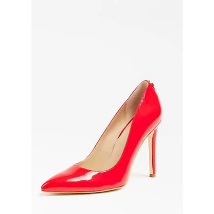 Guess Red Patent Court Shoe