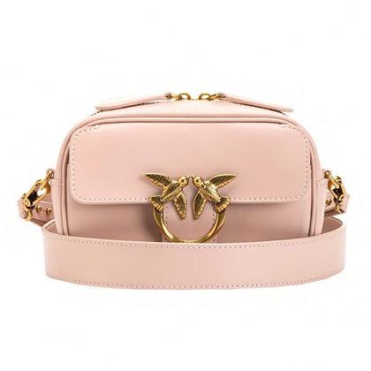 PINKO Soft Pink Baby Square Camera Bag