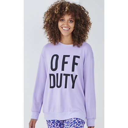 LB Lilac OFF DUTY Sweater