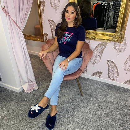GUESS Navy ICON Tee