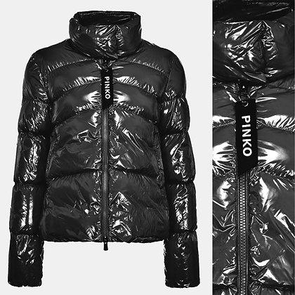 PINKO Black Padded Jacket