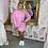 Thumbnail: GUESS Pink Sweatshirt Dress