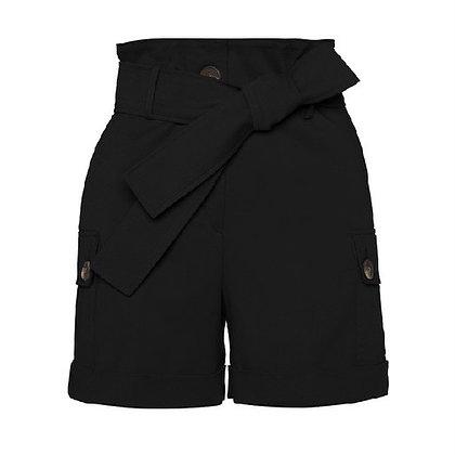LB Black Safari Style Shorts