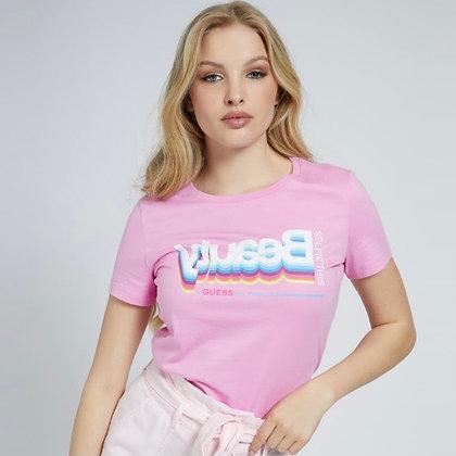 GUESS Pink Beauty T-shirt