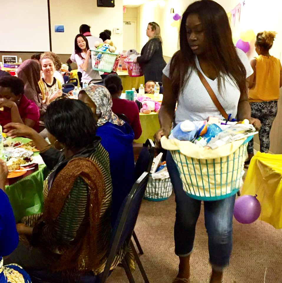 baby shower: 25 expecting mothers, 60 community volunteers made this happen! Thank you!