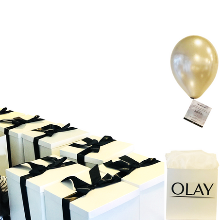 Olay Invitation in a Box