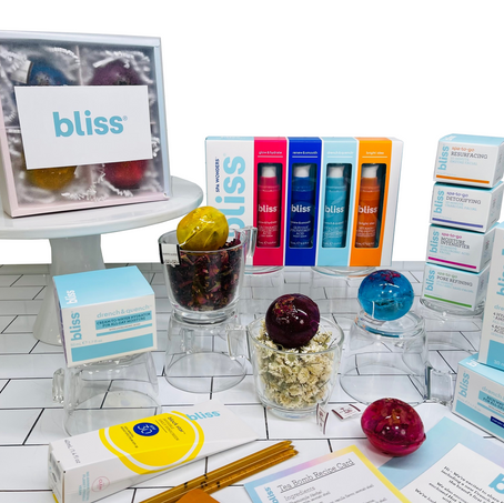 Bliss Skin Care + Tea Bomb Mailer