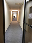 Hallway to F1 St. Catharines Office