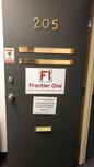 F1 St. Catharines Office Door