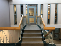Step 4: Take second stair to go to second floor then turn right