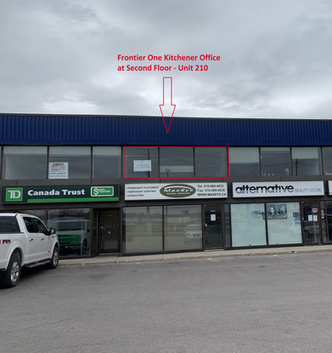 Location of Frontier One Kitchener Office
