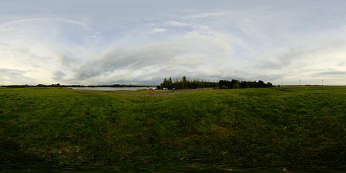 By a lake
