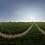 Thumbnail: A dirt road in a clean farm field