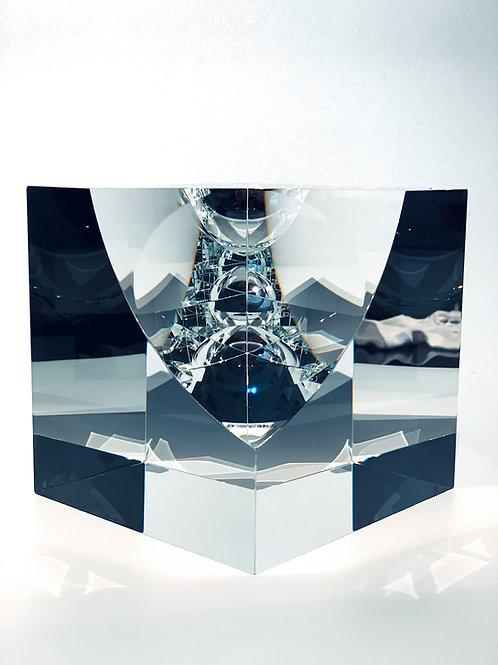 Infinity Cube double sphere