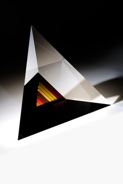 Deep Red Pyramid