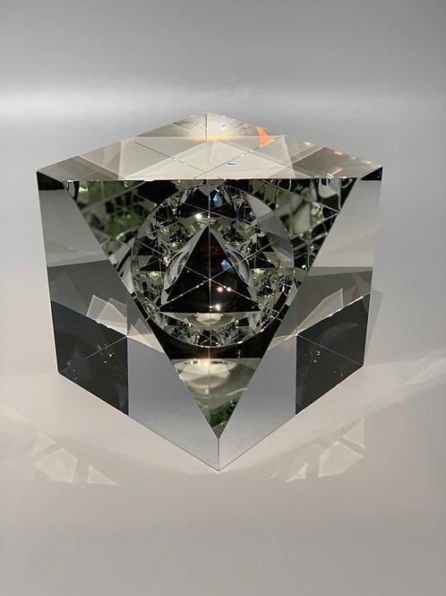 Infinity Cube Pyramid