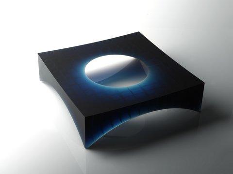 secret+structure++blue+,+2010,+365x365x100mm