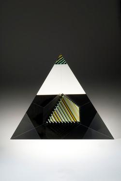 Pyramid Purple green