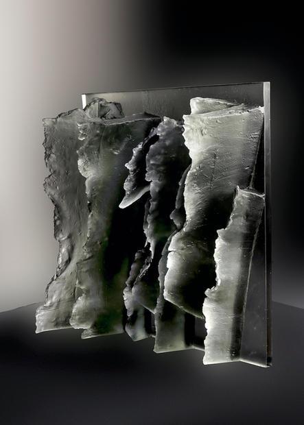 Zora Palova,ROCKY CLIFF,2020,mould-melte
