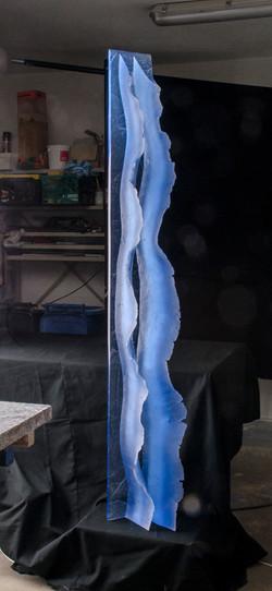 Zora,Sea Waves,197x30x20cm
