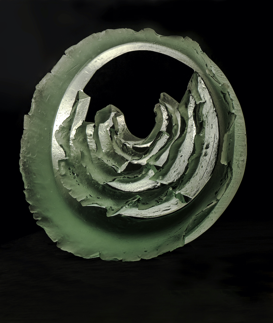 Zora Palova,ICY FLOWER,2020,mould-melted